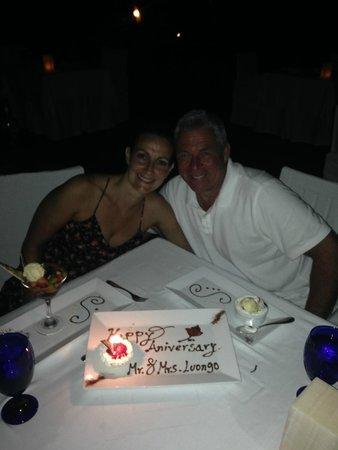 Romantic Dinner At The Corner Restaurant Picture Of
