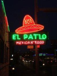 El Patio's classic neon sign - Picture of El Patio, Austin ...