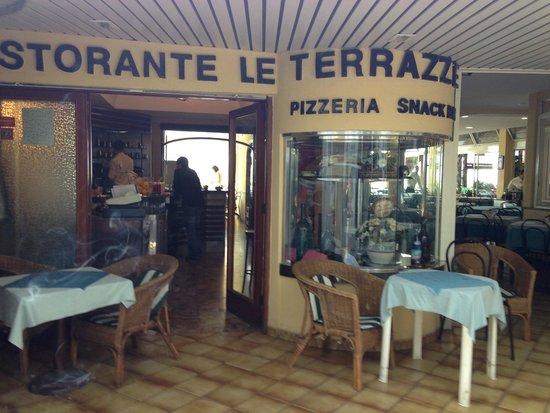 Il bar  Picture of Ristorante Le Terrazze Anacapri