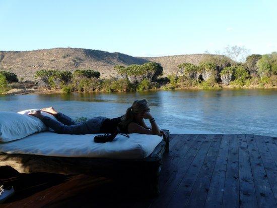 Blick Von Der Terrasse Photo De Galdessa Camp Tsavo National