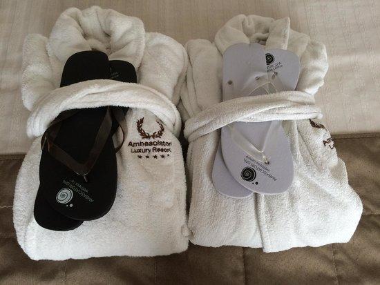 Accappatoi e ciabatte per SPA  Foto di Ambasciatori Hotel Riccione  TripAdvisor