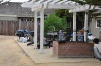 patio deck - Picture of Marina Dunes RV Park, Marina ...