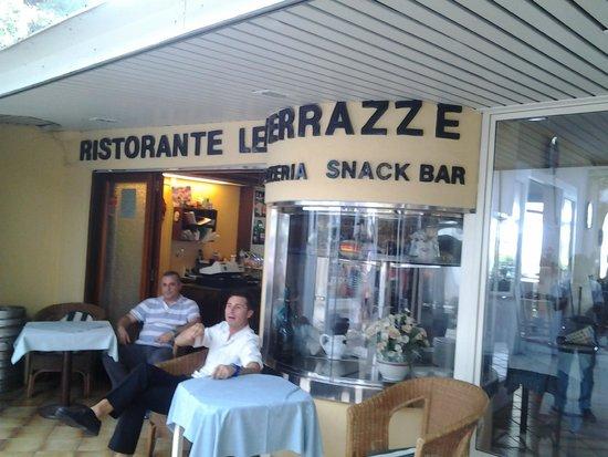 Frente do restaurante  Picture of Ristorante Le Terrazze
