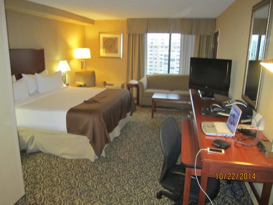 My Room 1116 Picture Of Holiday Inn National Airport