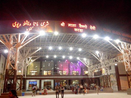 Shri Mata Vaishno Devi Katra Railway Station Picture Of