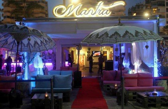 Awesome hang out spot  Mantra Lounge Bar Marbella Traveller Reviews  TripAdvisor