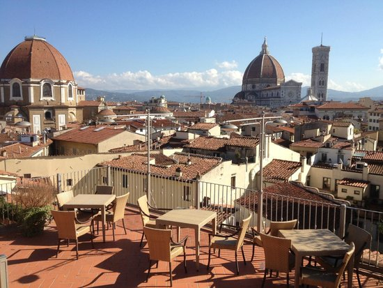view from roof gardenrestaurant  Foto di Grand Hotel