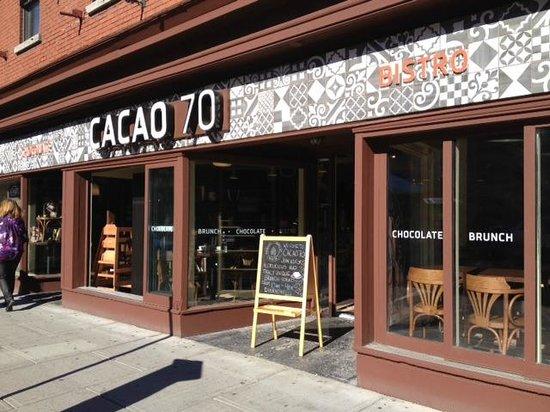 Cacao 70 Ottawa 51 53 William St Restaurant Reviews