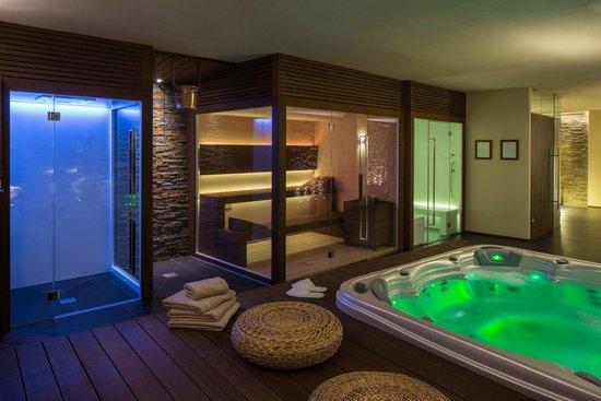 SPA doccia emozionale doccia finlandese sauna e bagno turco con cromoterapia  Picture of
