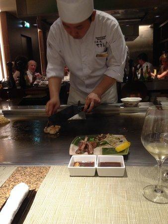 Grilled scallops - Picture of Teppanyaki Restaurant Sazanka. Amsterdam - Tripadvisor