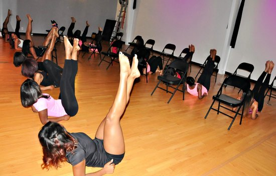 on chair dance minnie mouse folding celebrate your birthday with a lesson in exotic only at miss fit academy