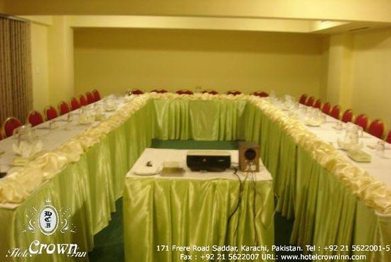 Conference Hall Picture Of Hotel Crown Inn Karachi