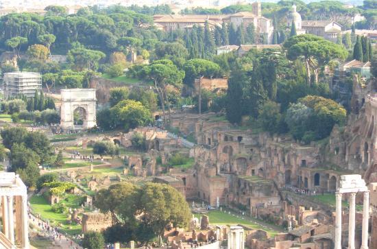fori imperiali  Picture of Roma dal Cielo Terrazza delle