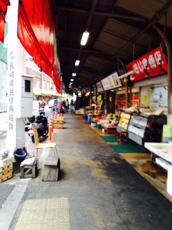 Sidewalk Markets Picture Of Sasebo Washington Hotel