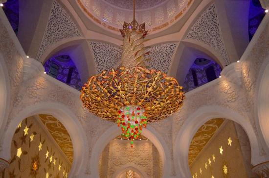 Sheikh Zayed Mosque Swarovski Crystal Chandelier