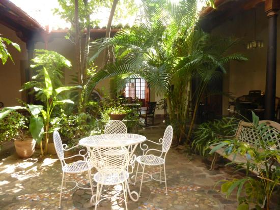 Patio interior  Picture of Hotel Casa Antigua Granada