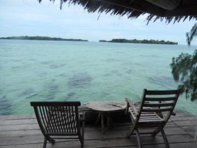 Private deck - Picture of Pulau Macan Tiger Islands ...