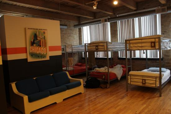 Dormitorio  Picture Of Urban Holiday Lofts, Chicago