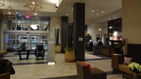 View Of The Front Desk Picture Of Four Points By Sheraton Kelowna Airport Kelowna TripAdvisor