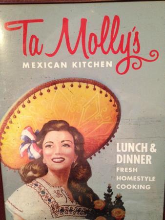 Menu  Picture of TaMollys Mexican Restaurant Texarkana  TripAdvisor