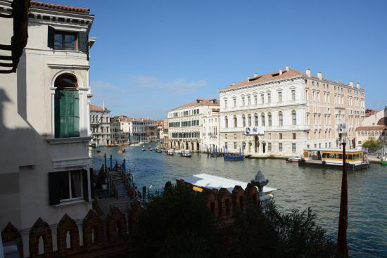 Grand Canal View Picture Of Hotel Palazzo Stern Venice
