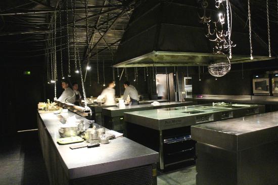 Open Kitchen Photo De Auberge De La Grenouillere