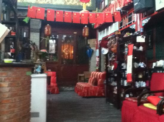 Red Lantern Courtyard Picture Of Red Lantern House