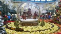 Christmas decorations at the Bellagio Conservatory