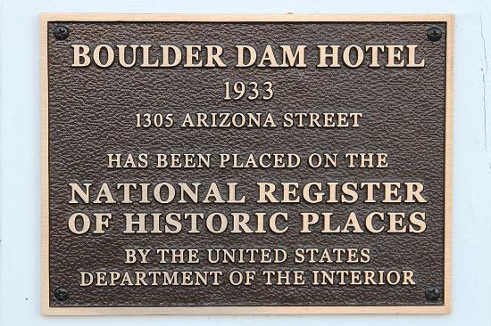 Historic plaque by front door