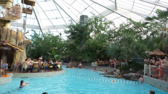 Center Parcs De Vossemeren Overzicht Tropisch Zwembad Vossemeren