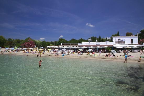 playa cala pada  Bild von Apartamentos Los Arcos Santa