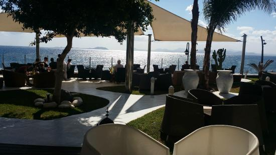 Lovely seating and views  Picture of Marea Terraza Lounge