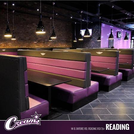 Creams Reading - Restaurantanmeldelser - TripAdvisor