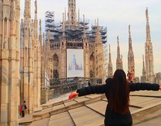 Terrazza del duomo madonnina  Foto di Terrazze del Duomo Milano  TripAdvisor