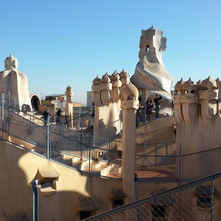 camino  Picture of Casa Mila La Pedrera Barcelona