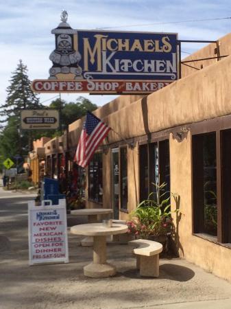 Michael Logo Michaels Kitchen Cafe Bakery Taos