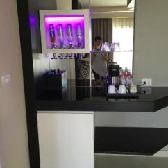 Living Room Mini Bar White Side Tables For In Separate From Bedroom Picture Of Chic By Royalton Luxury Resorts
