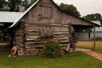 George's Cabin dogtrot - Picture of Rose Mansion, Salado ...