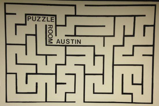 Waiting Room  Picture of Puzzle Room Austin Austin