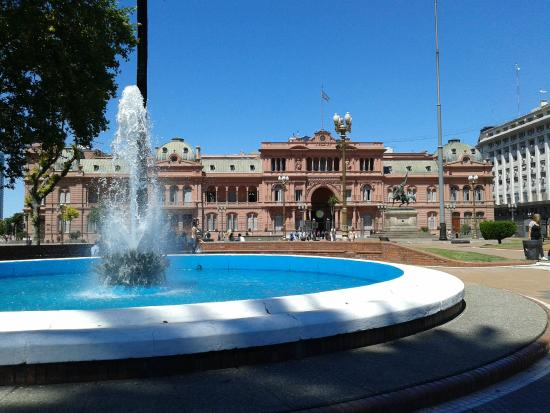 Arcos do ptio interno  Picture of La Casa Rosada  Palacio de Gobierno Buenos Aires