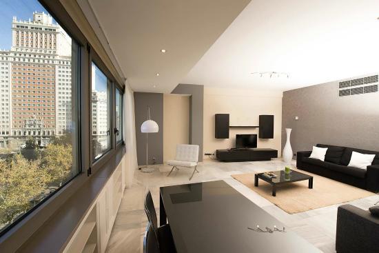 Dormitorio Apartamento Deluxe  Picture of Apartamentos