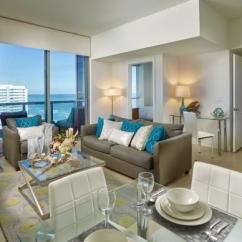 Living Room Miami Best Wall Colors For Rooms With Sofabed And Private Balcony In Deluxe Ocean View Churchill Suites Monte Carlo Beach
