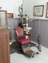 Antique dentist chair - Picture of Old Depot Museum ...