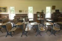 Inside One-Room Schoolhouse - Picture of The One Room ...