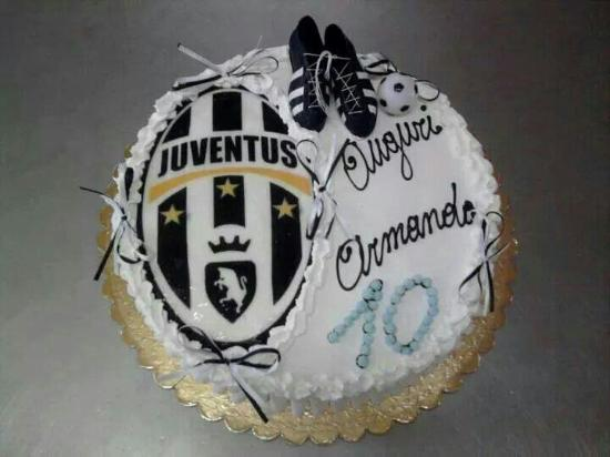 Torta Compleanno Juve  Idea di immagine del torta