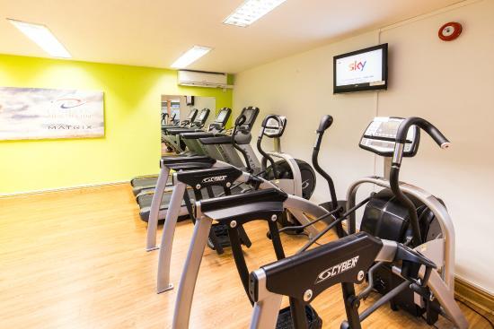 Gym Lower Floor Picture Of Best Western Plus Centurion