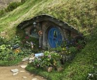 Hobbit house, Hobbiton - Picture of Hobbiton Movie Set ...