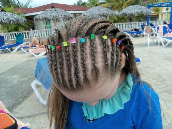 Braids For Kids Picture Of Memories Caribe Beach Resort Cayo Coco Tripadvisor