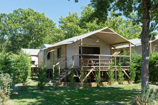 Cabane Lodge sur Pilotis  Picture of Camping Les Chevrefeuilles Royan  TripAdvisor