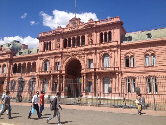 Fachada  Picture of La Casa Rosada  Palacio de Gobierno Buenos Aires  TripAdvisor